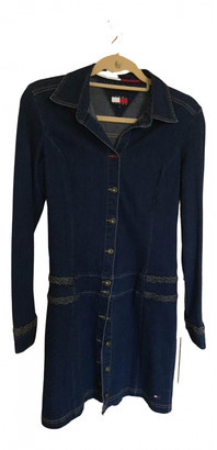 Tommy Jeans Navy Denim - Jeans Dresses