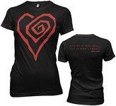 MARILYN MANSON - Big Heart Juniors T-Shirt