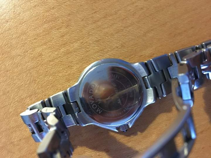 Movado 84.A1.827.2 Stainless Steel 23mm Watch