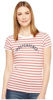 Alternative Eco Jersey Yarn-Dye Stripe Ideal Tee Women's T Shirt