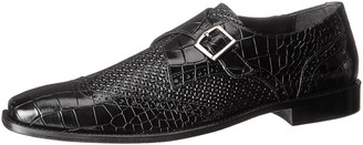 Stacy Adams Men's Giannino-Monk Strap Wingtip Slip-On Loafer