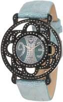 Brillier Women's 04-11121-04-Bl Papillon Swiss Quartz Watch