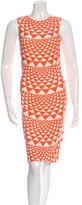 Fausto Puglisi Printed Sleeveless Dress