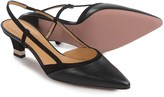 a. testoni Slingback Heel Shoes - Leather (For Women)