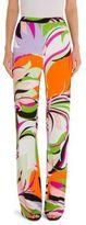 Emilio Pucci Printed Jersey Pants