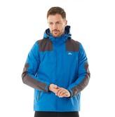 Trespass Mens Waterproof Shell Jacket Blue