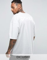 Other UK Oversized T-Shirt With Back Print