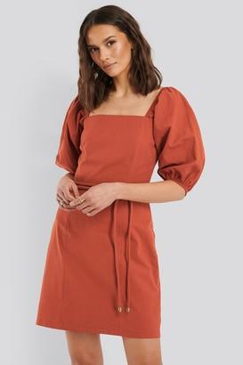 Trendyol Belted Mini Dress