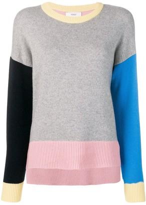 Pringle Colour Block Cashmere Jumper