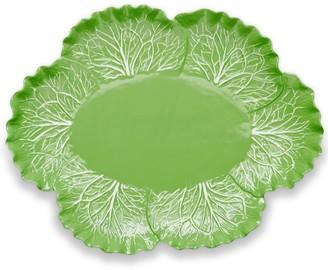 Tory Burch Lettuce Ware Oval Serving Platter