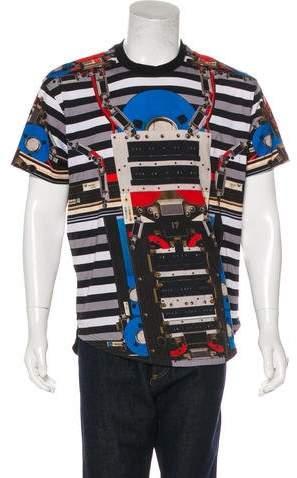 Givenchy Robot Print T-Shirt