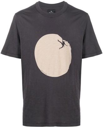 Paul Smith Climber-print cotton T-shirt