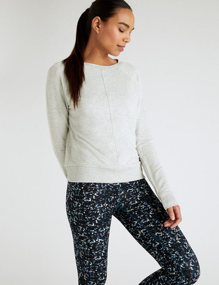Marks and Spencer Crew Neck Long Sleeved Sweatshirt