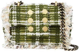 Kooreloo Petite Pillow Tweed Crossbody Bag