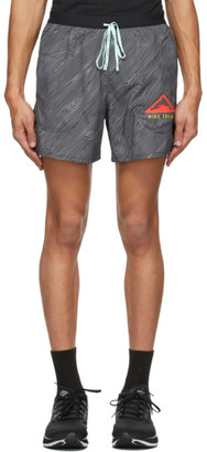 Nike Black Flex Stride Trail Shorts