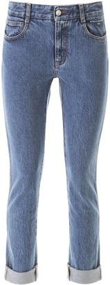 Stella McCartney Turn-Up Cuff Skinny Jeans