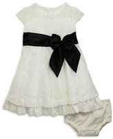 Us Angels Infant Girls' Flared Lace Dress & Bloomers Set - Baby
