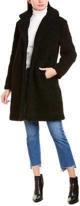 J.Crew Teddy Sherpa Top Coat