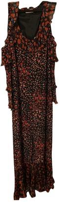 Raquel Diniz Red Viscose Dresses