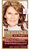 L'Oreal ExcellenceAge Perfect Layered Tone Flattering Color, 5G Medium Soft Golden Brown(Packaging May Vary)