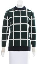 J.W.Anderson Windowpane Wool Sweater