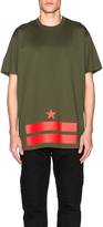 Givenchy Columbian Fit Bands and Star Tee