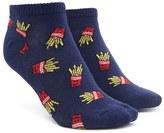 Forever 21 FOREVER 21+ French Fries Ankle Socks