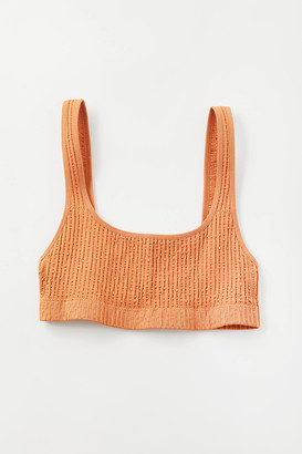 Out From Under Sunny Seamless Scoop Neck Bikini Top