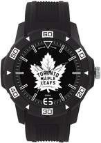 Game Time Men's 'AUTOMATIC' Quartz Plastic Casual Watch, Color: (Model: NHL-AUT-TOR)