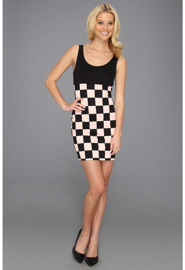 Type Z Keiba Checker Print Dress (Mint) - Apparel