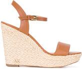 MICHAEL Michael Kors braided sole wedges - women - Leather - 9.5