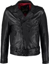 Schott Nyc Leather Jacket Black