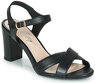 Betty London MOUDINE women's Sandals in Black