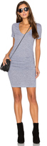 Lanston Ruched T Shirt Dress