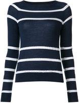 Jason Wu striped knit jumper - women - Merino - M