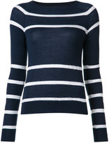 Jason Wu striped knit jumper - women - Merino - XS