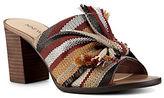 Nine West Byron Stacked Heel Sandals