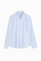 Paul & Joe Mushroom Embroidered Shirt