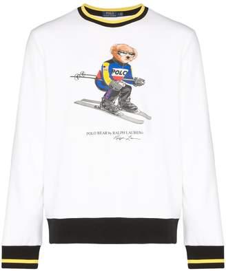 Polo Ralph Lauren ski bear print sweatshirt