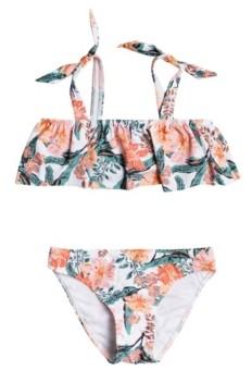 Roxy Big Girls Love Is Big Flutter Bikini Set