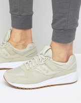 Saucony Grid 8500 Trainers In Beige S70286-6