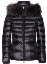 Duvetica Nefele Down Jacket With Fur-trimmed Hood