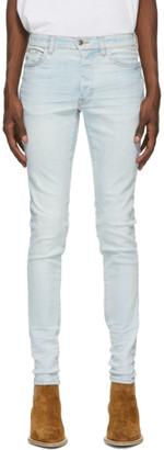 Amiri Blue Stack Jeans