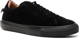 Givenchy Knots Urban Low Velvet Sneakers