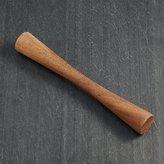 Crate & Barrel Orb Wood Muddler