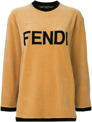 Fendi Pre-Owned Long Sleeve Sweatshirt