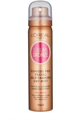 L'Oreal Sublime Bronze Self-Tanning Dry Mist For Face 75Ml