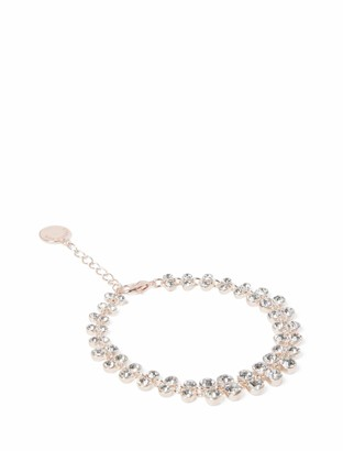 Forever New Astrid Double Stone Bracelet - Rose Gold - 00