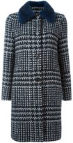 Ermanno Scervino collar detail coat