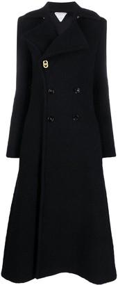 Bottega Veneta Boucle Double-Breasted Coat